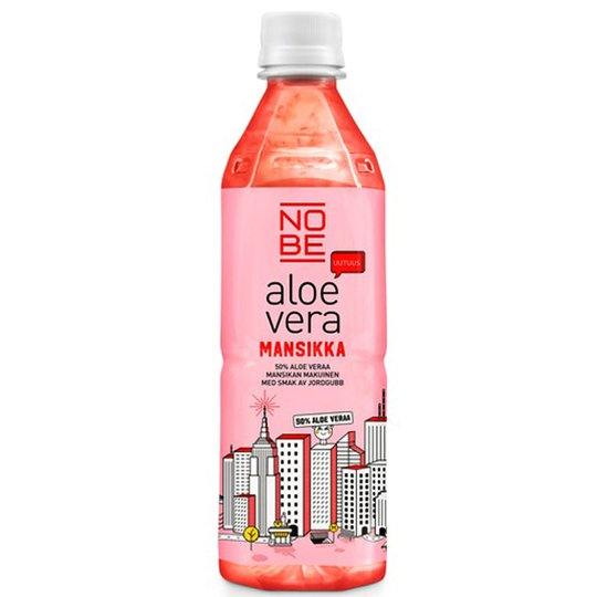 Nobe Aloe Vera Mansikka - 33% alennus
