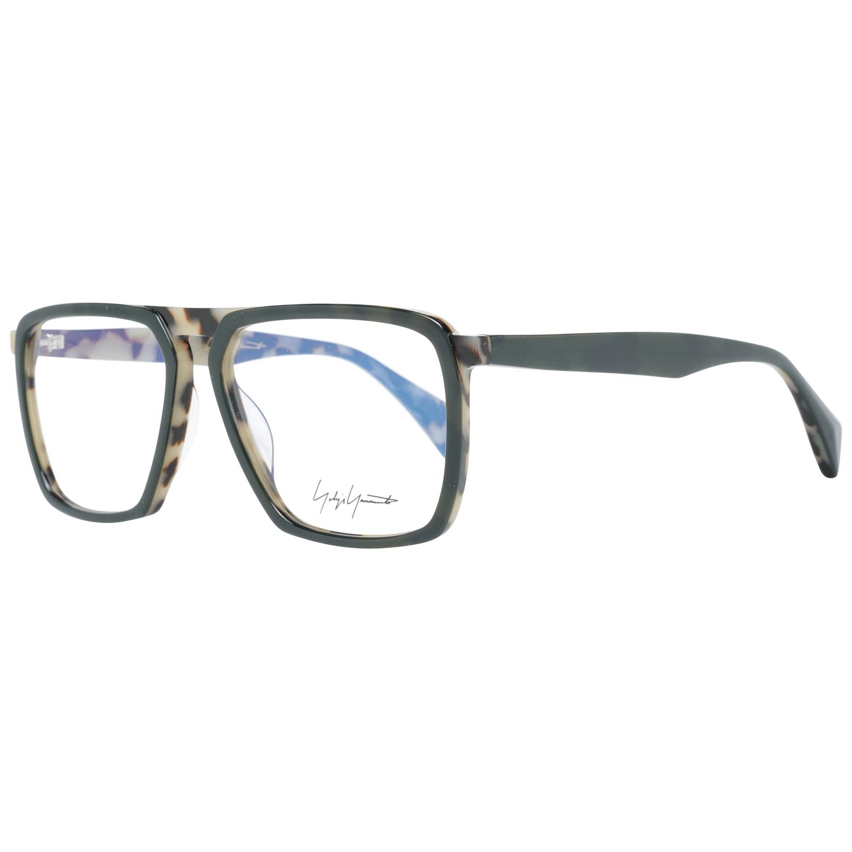 Yohji Yamamoto Men's Optical Frames Eyewear Green YY1044 56570