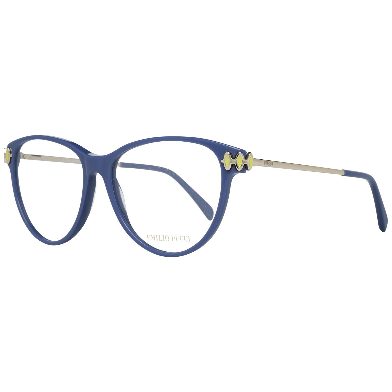 Emilio Pucci Women's Optical Frames Eyewear Blue EP5055 55090