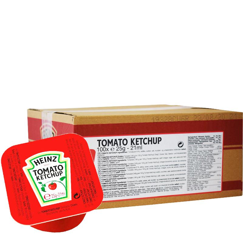 Ketchup Portionsförpackningar 100-pack - 51% rabatt