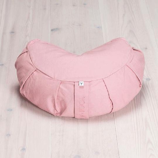 Meditation Cushion Crescent, Heather Pink