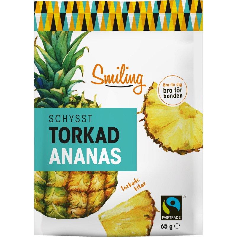 Torkad Ananas - 12% rabatt