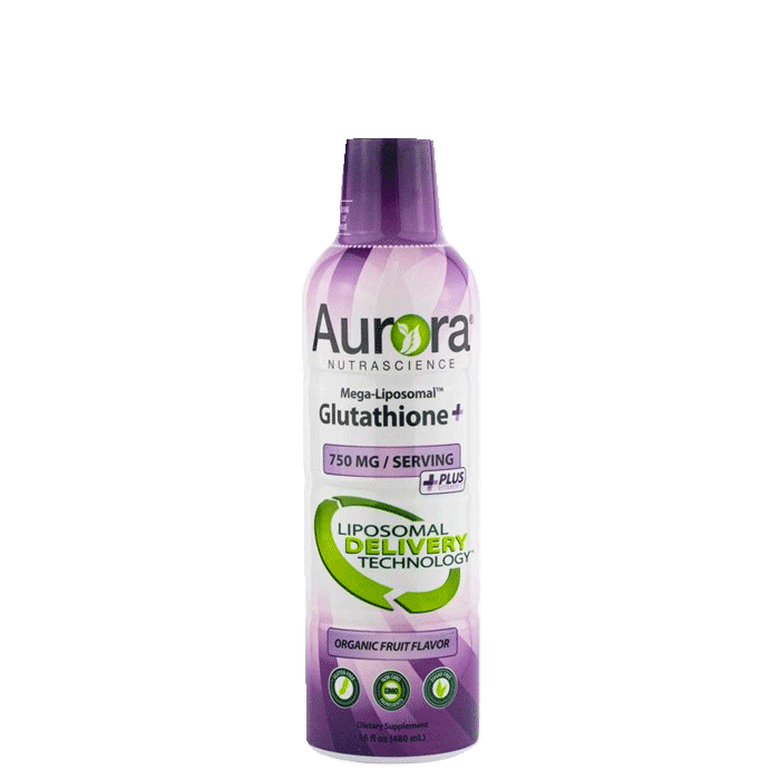 Aurora Mega Liposomal Glutation, 480 ml