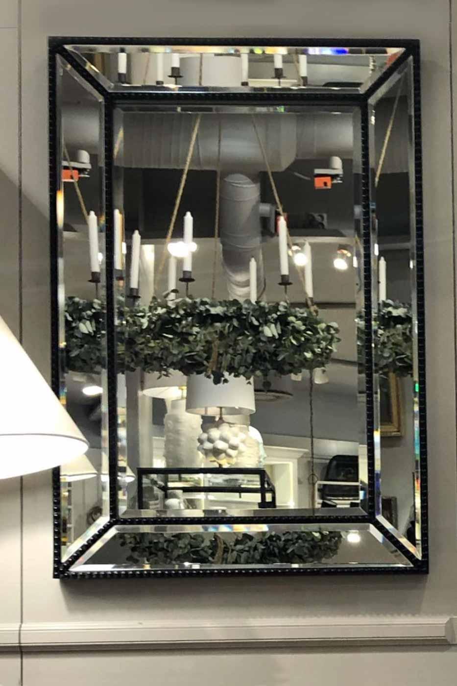 Spegel Isac 90x60 cm Brun