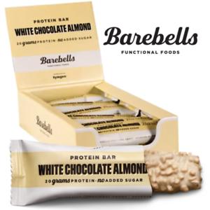 Barebells Protein Bar White Chocolate Almond 55g x 12st