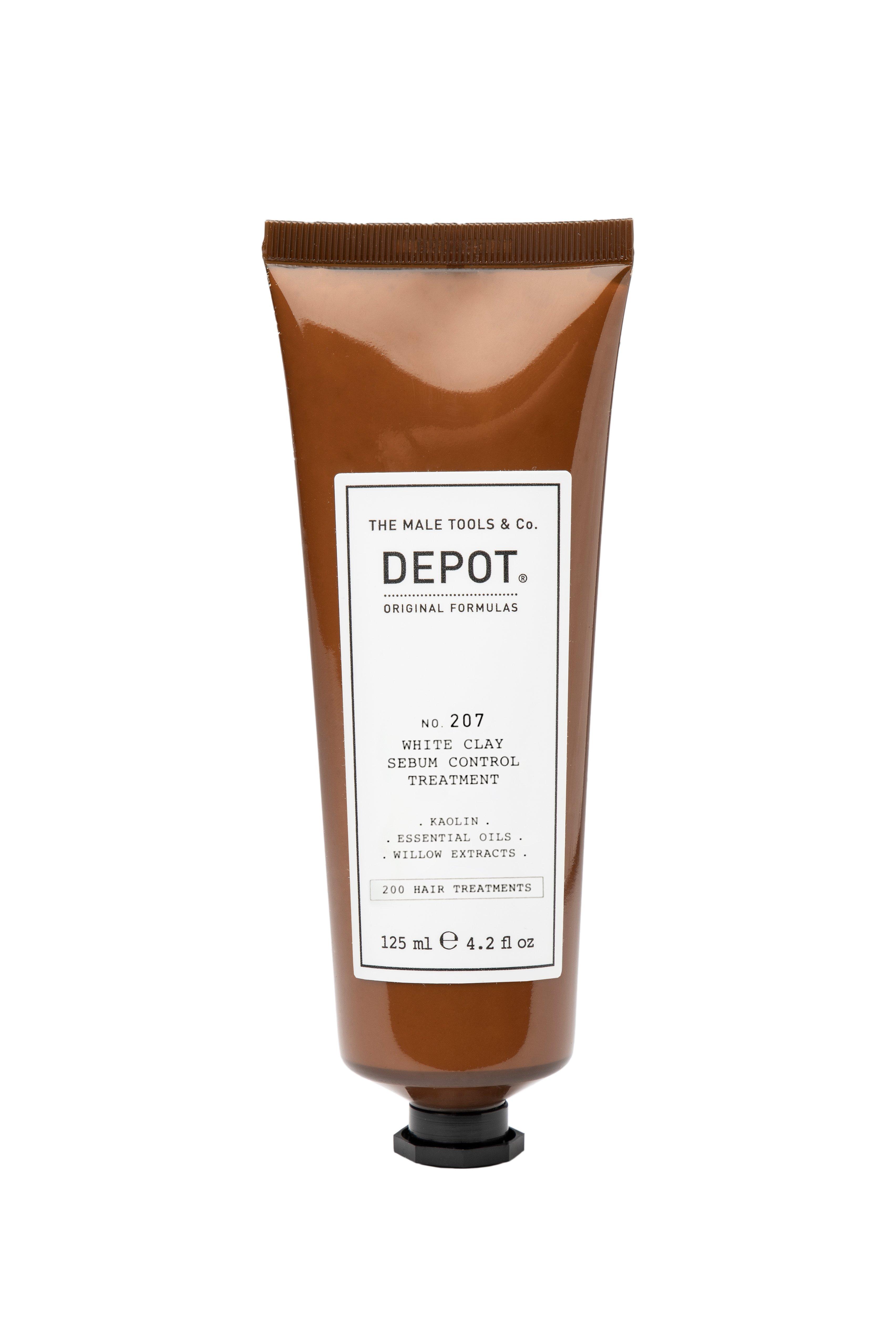 Depot - No. 207 White Clay Serum Control Treatment - 125 ml