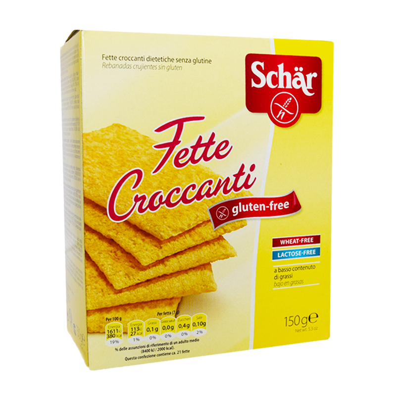 Glutenfritt Frasbröd 150g - 75% rabatt
