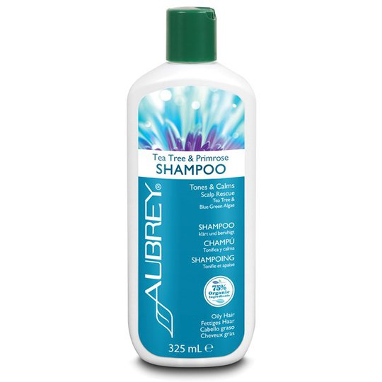 Aubrey Organics Tea Tree & Primrose Shampoo, 325 ml
