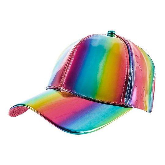 Discokeps Holografisk Flerfärgad - One size