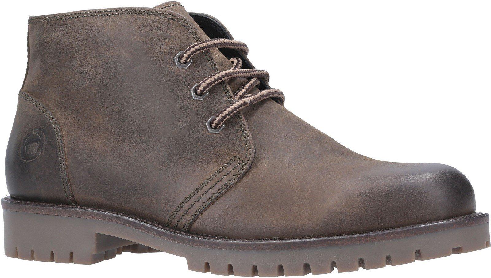 Cotswold Men's Stroud Lace Up Shoe Boot Various Colours 29264 - Khaki 6