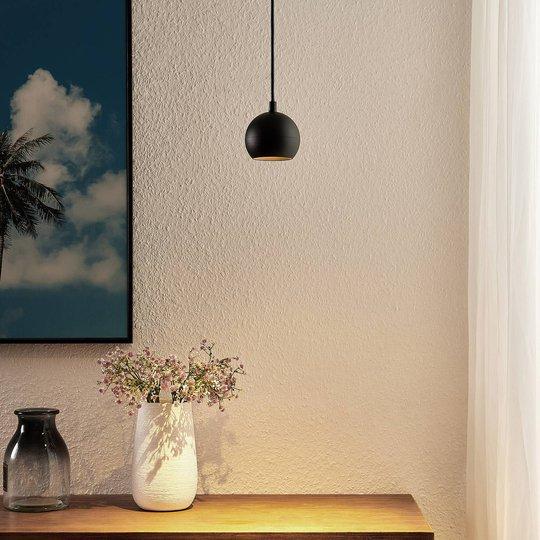 Arcchio Renko hengelampe, 1 lyskilde, svart