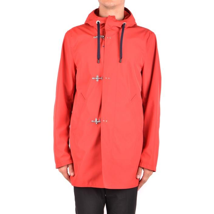 Fay Men's Jacket Red 163735 - red L