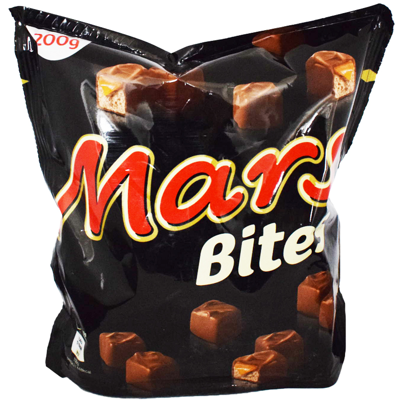 "Godis ""Mars Bites"" 200g - 44% rabatt"