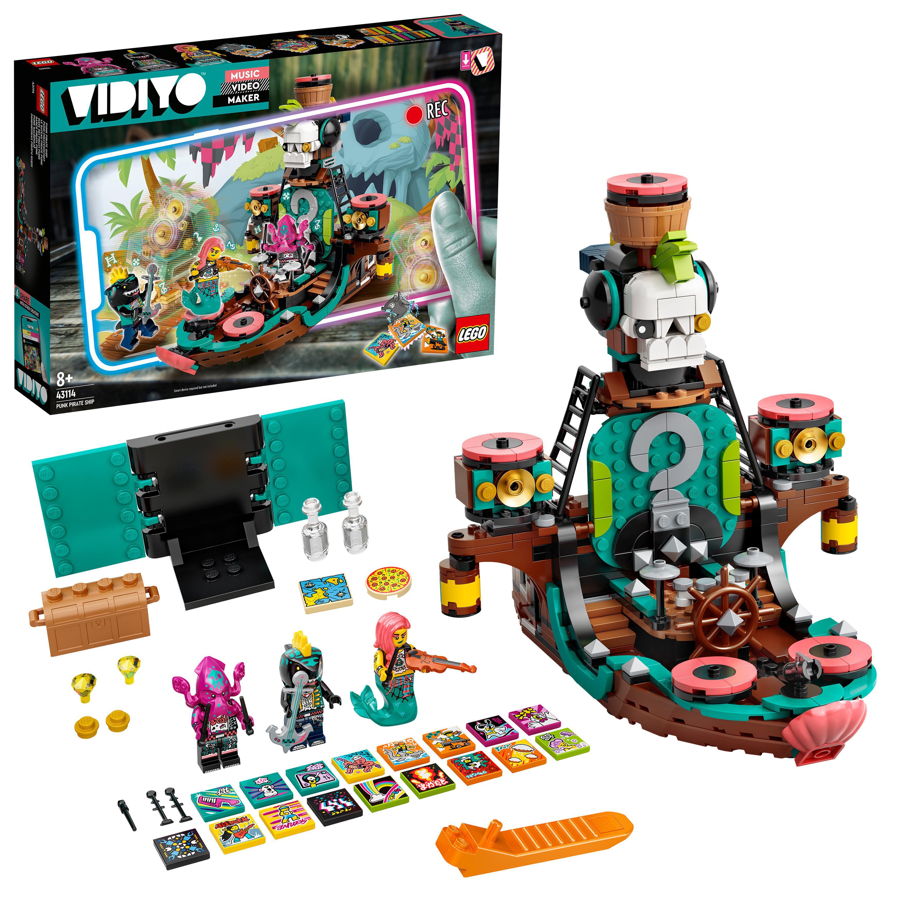 LEGO VIDIYO - Punk Pirate Ship (43114)