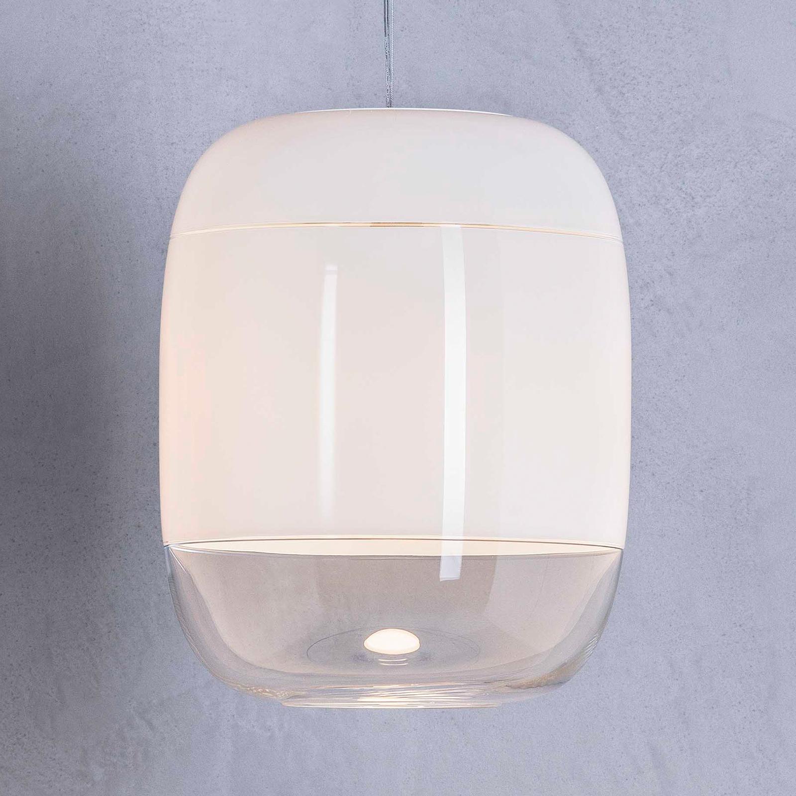 Prandina Gong S3 riippuvalaisin, valkoinen