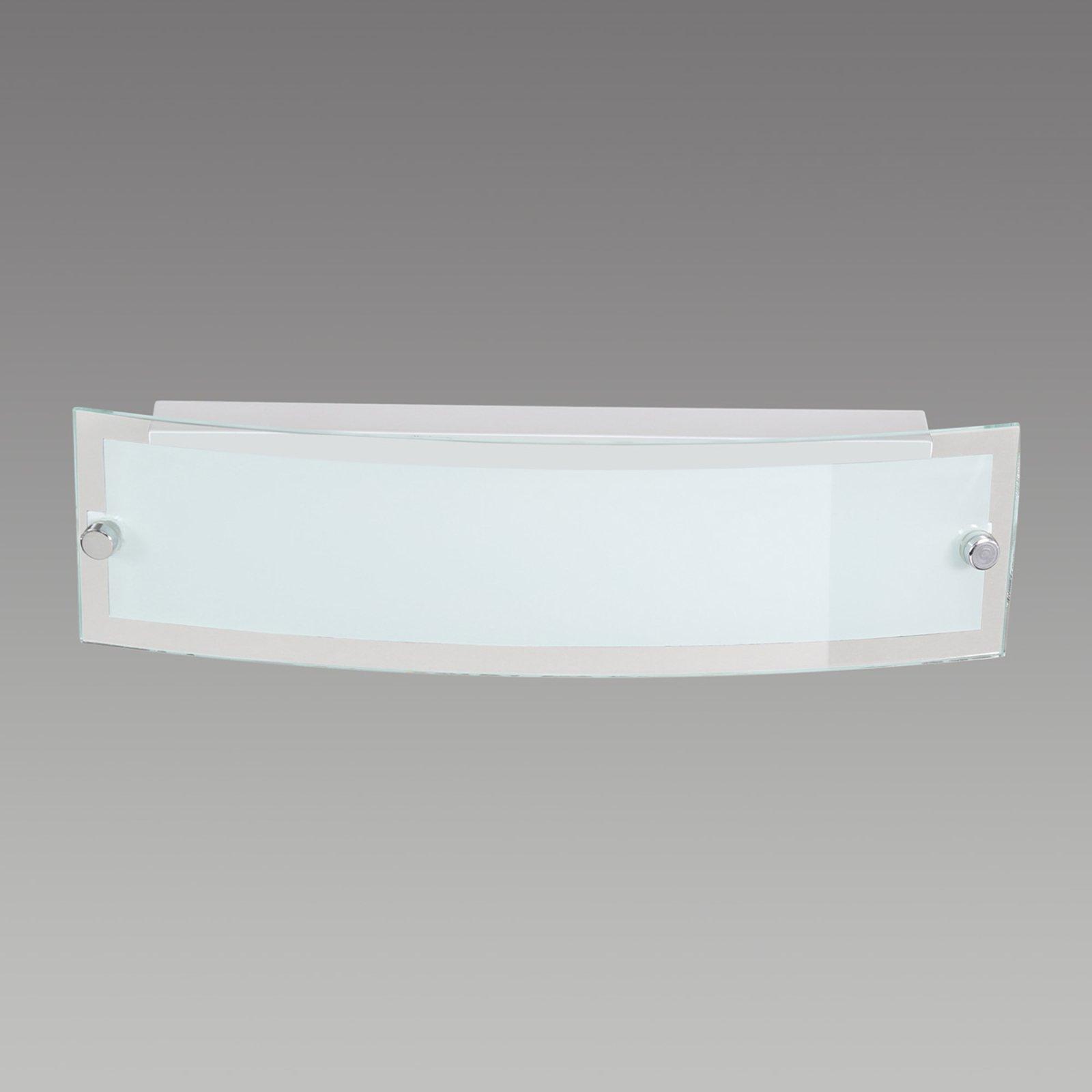 Satinert LED-vegglampe Lorenz