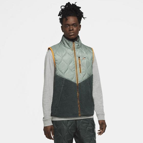 Nike M Nsw He Vest Insl Winter Jackor SPIRAL SAGE/VINTAG