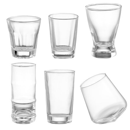 Shaya Shotglass 6-pakning 28–120 ml