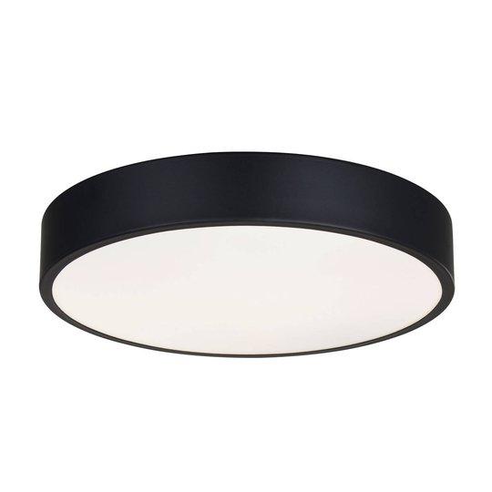 Lindby Simera -LED-kattovalaisin 30 cm, musta