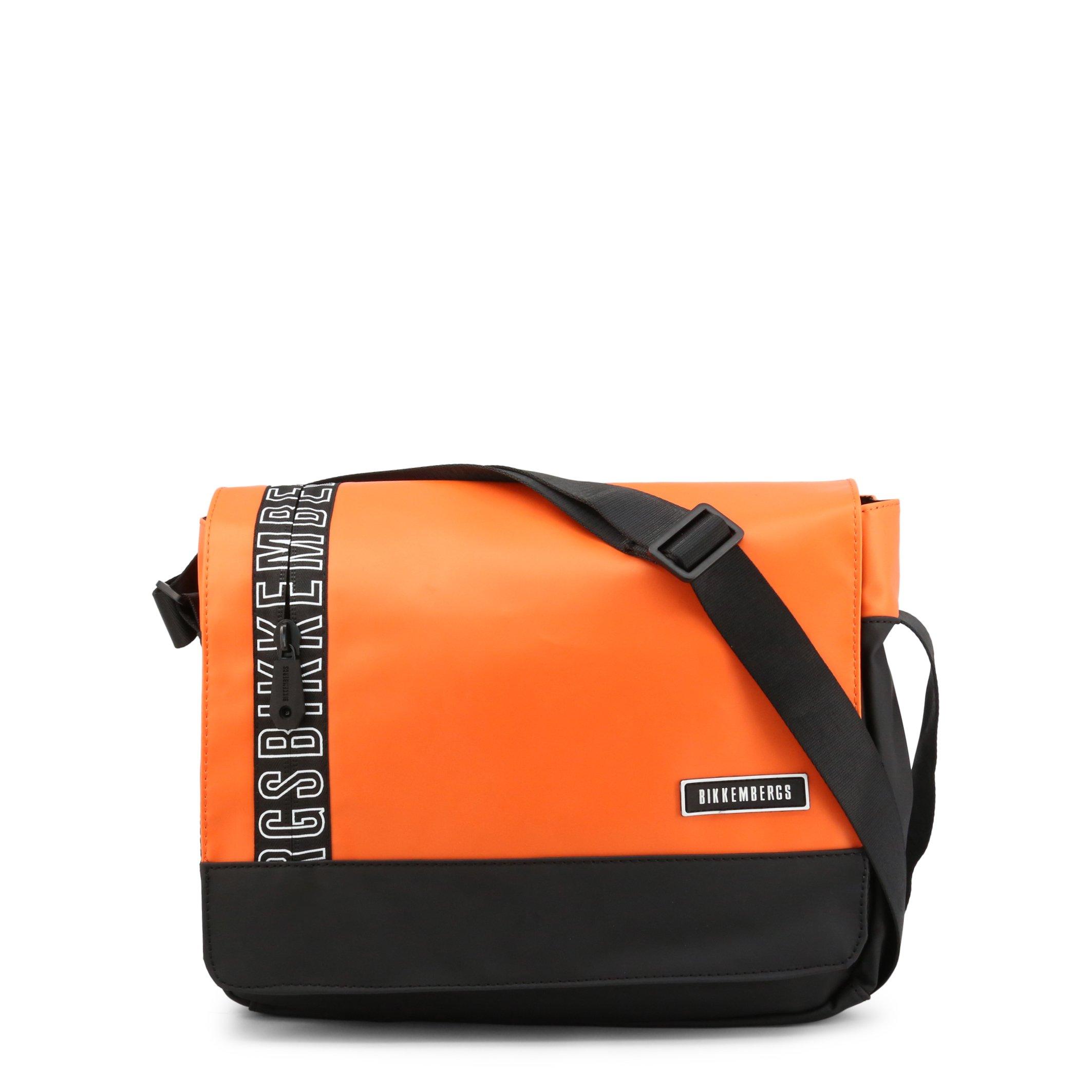 Bikkembergs Men's Briefcase Various Colours E2APME170052 - orange NOSIZE