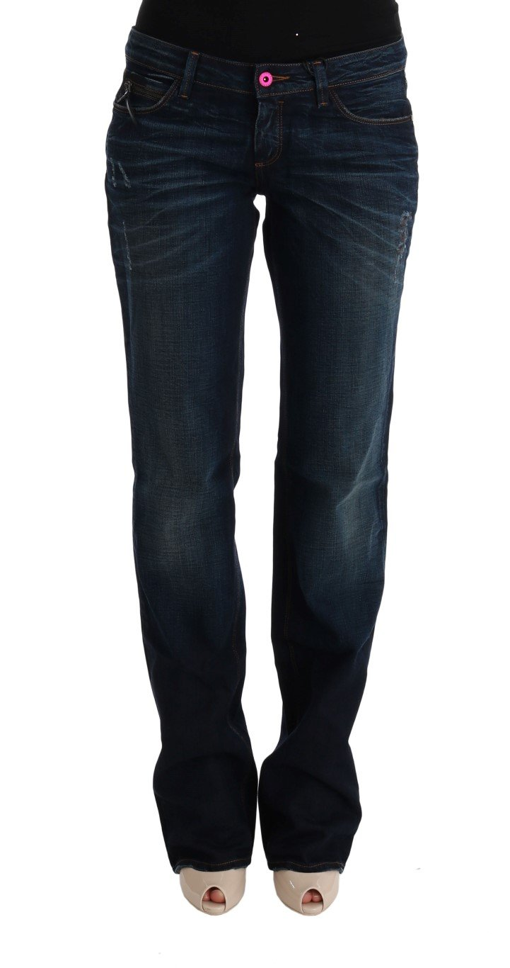 Costume National Women's Cotton Regular Fit Denim Jeans Blue SIG30107 - W28