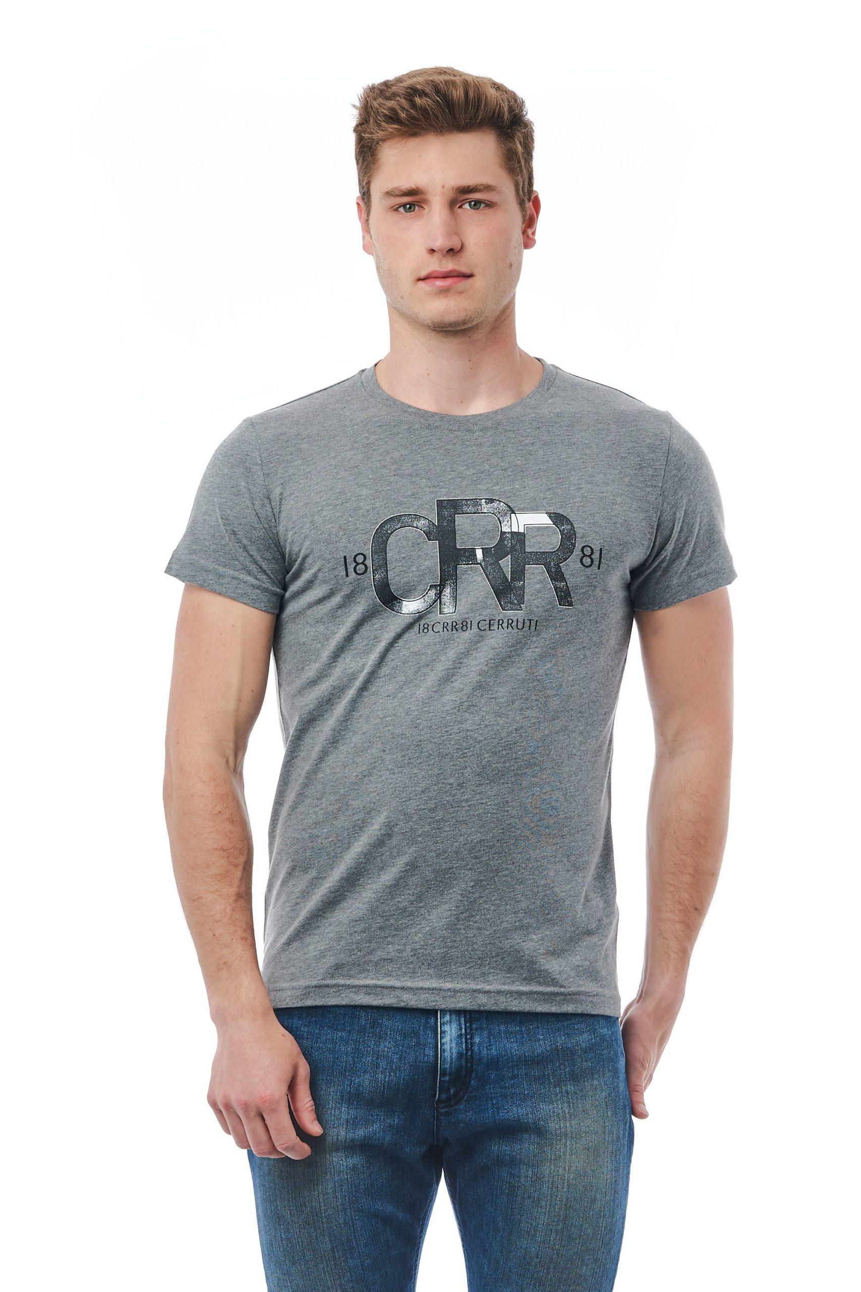 Cerruti 1881 Men's Gri Md Grey T-Shirt Gray CE1409880 - M
