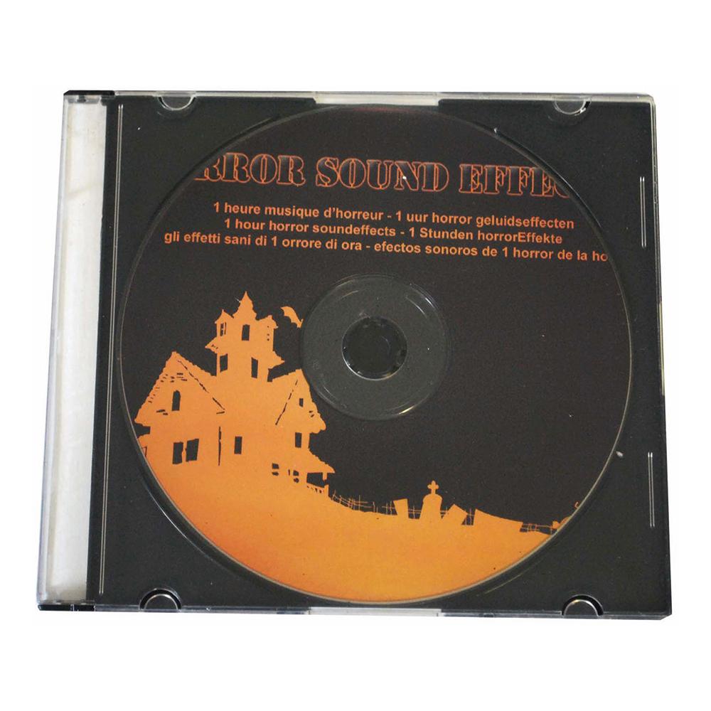 CD-skiva med Skräckljud