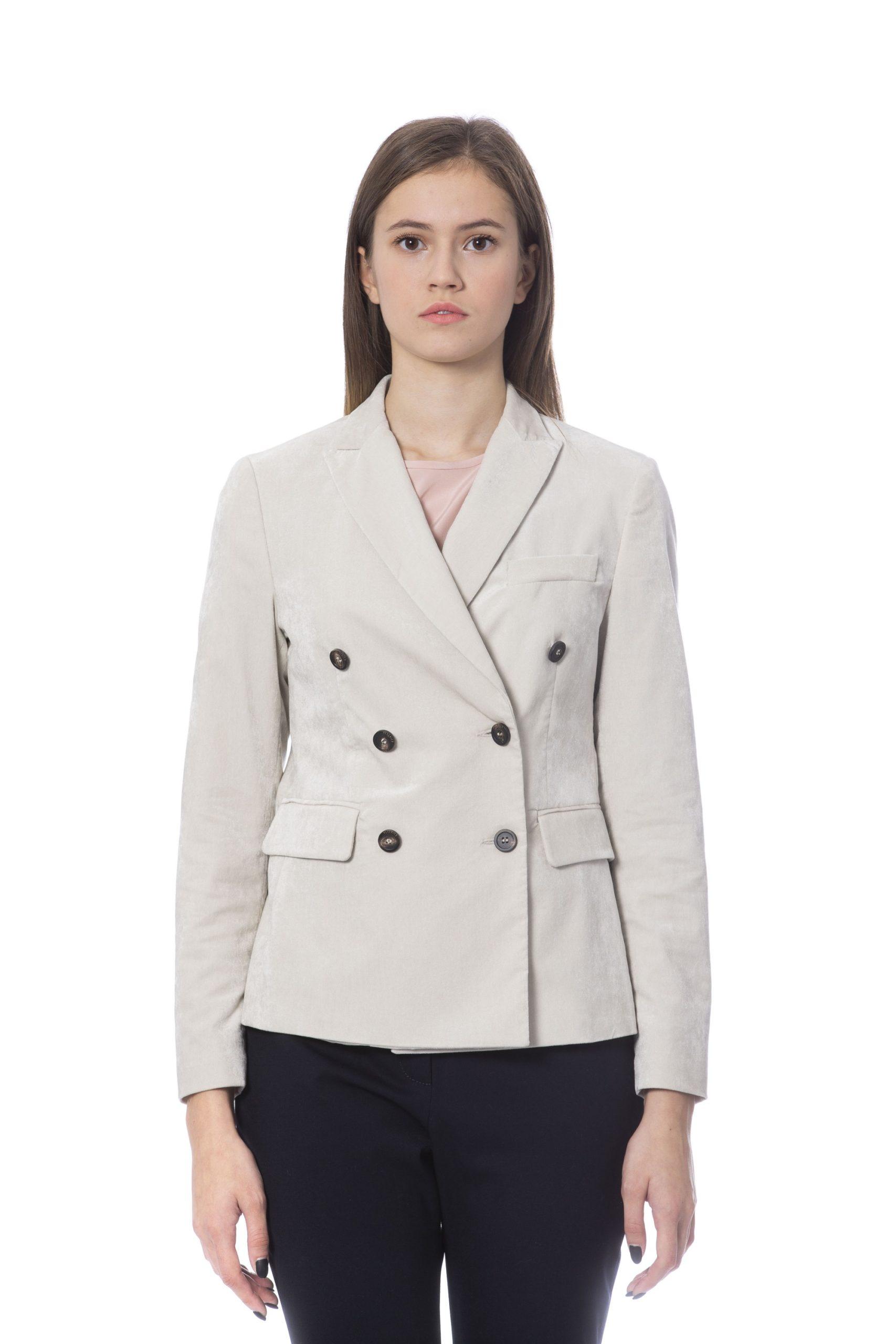 Peserico Women's Jackets Beige PE854416 - IT42   S