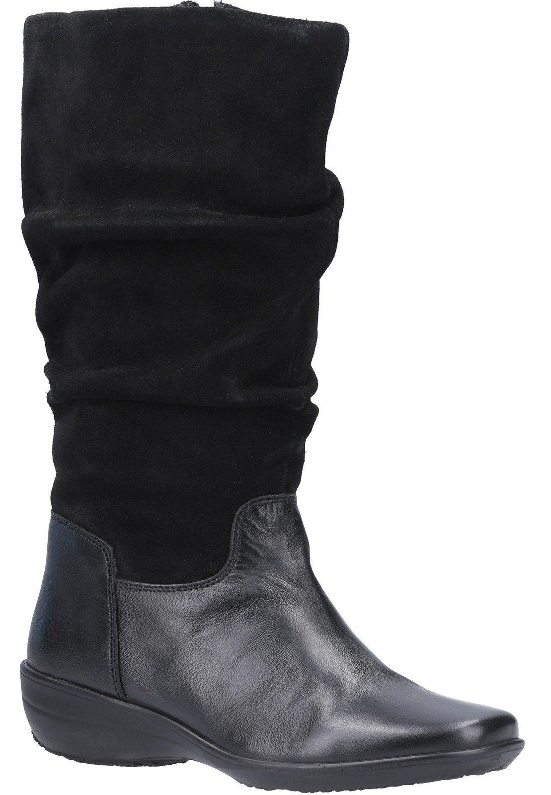 Fleet & Foster Women's Margot Zip Mid Boot Black 29291-49572 - Black 4