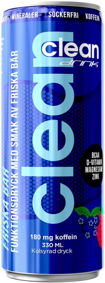 Clean Drink BCAA Nordiska Bär 33cl