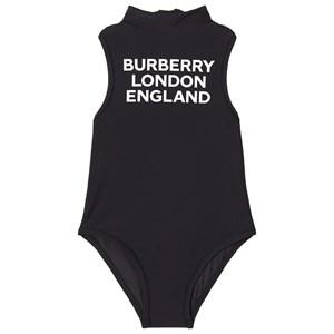 Burberry Logo Baddräkt Svart 4 år