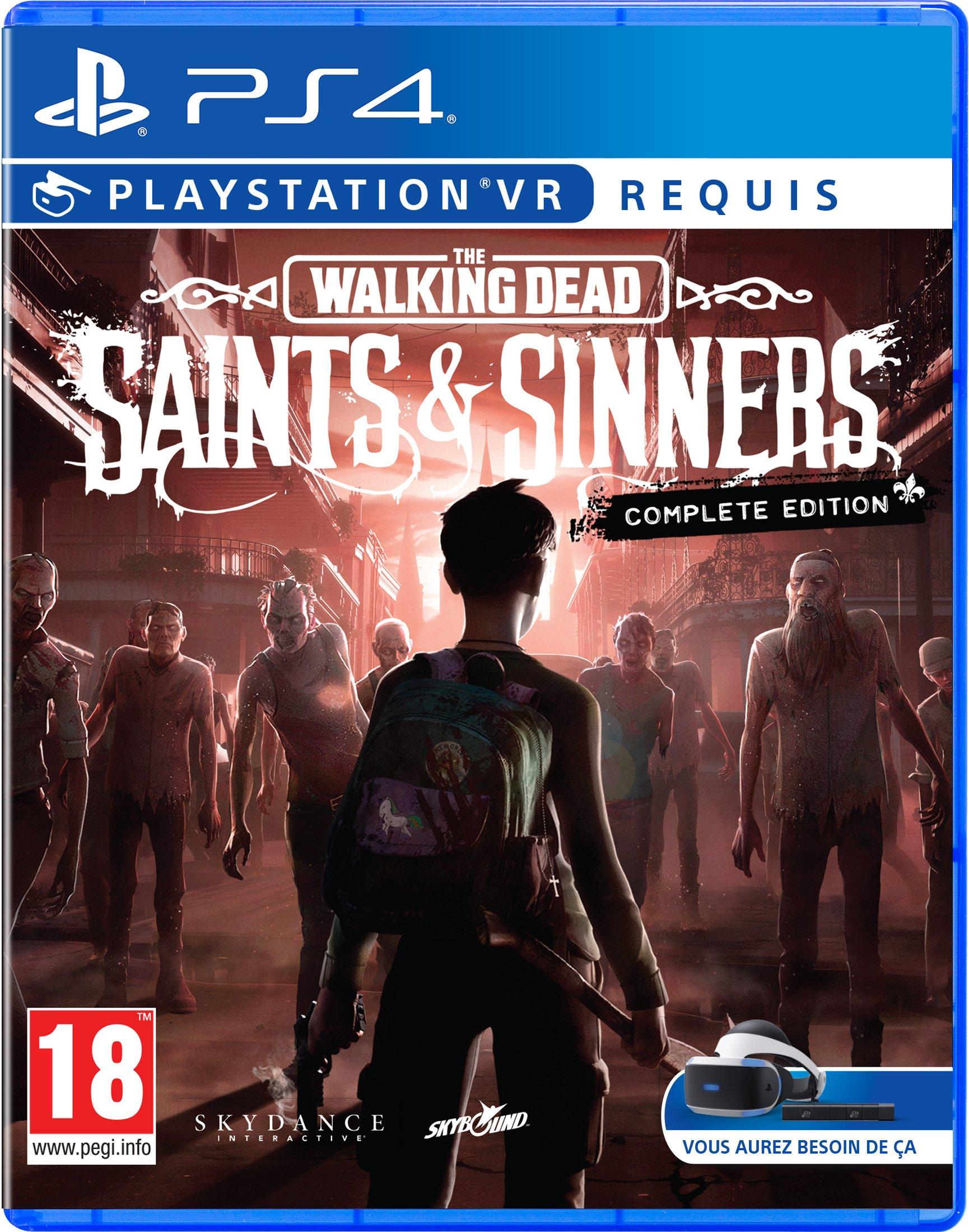 The Walking Dead: Saints & Sinners – The Complete Edition Copy (PSVR)