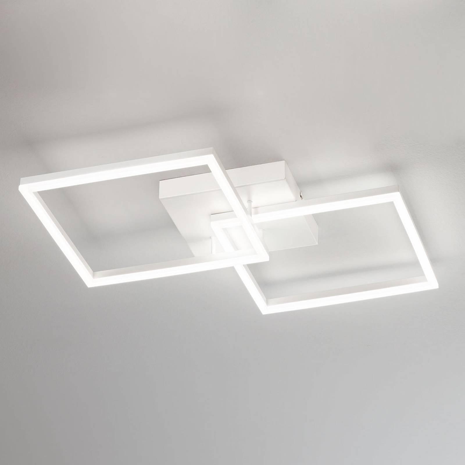 Moderni LED-kattolamppu Bard valkoisena