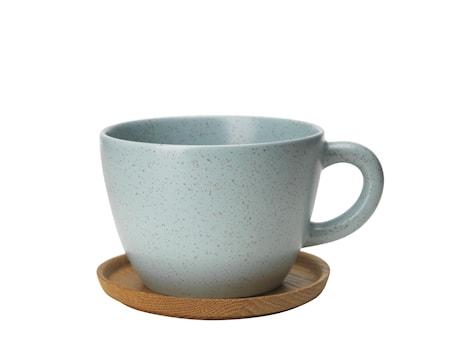 Höganäs Keramik Temugg 50 cl med träfat frost matt