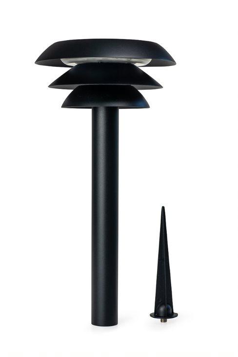 Dyberg-Larsen - 2 x DL20 O Solar Path Lamp - Black (1040)