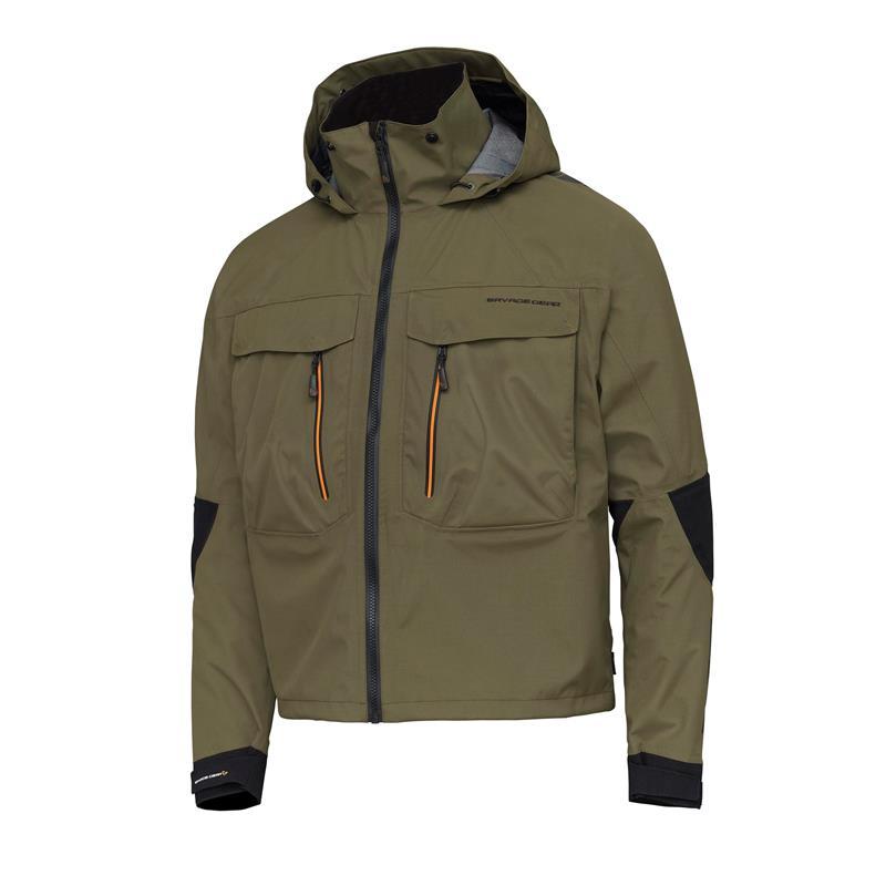 Savage Gear SG4 Wading Jacket XL Olive Green