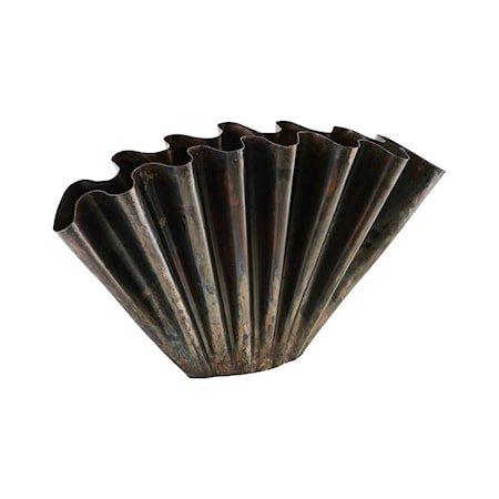 Vase Flood Antikk Brun