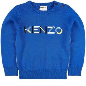 Kenzo Logo Tröja Blå 3 år