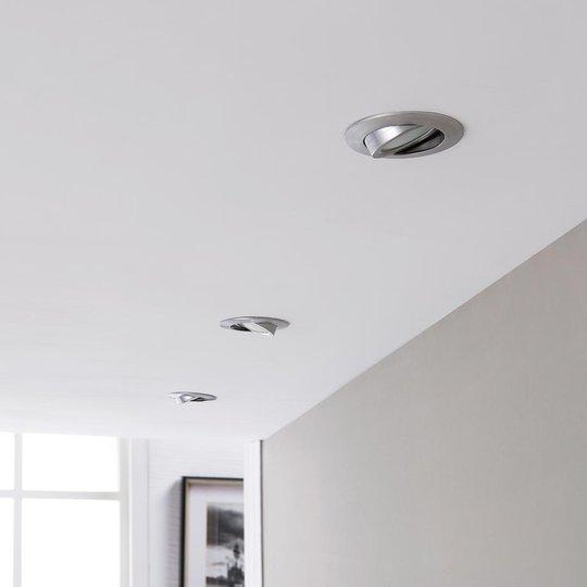 LED-kohdevalaisin Andrej, pyöreä, alu, 3-sarja
