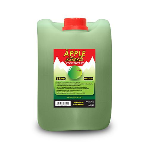 SLUSH Green apple koncentrat 5L spädes 1+5