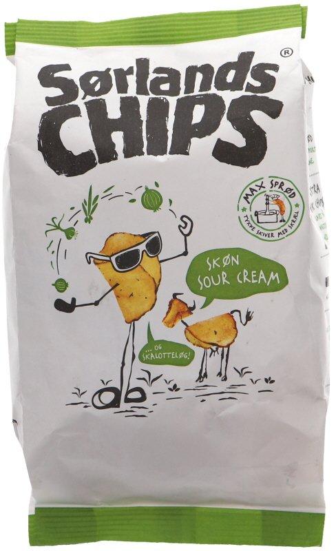 Chips Sour Cream - 56% rabatt