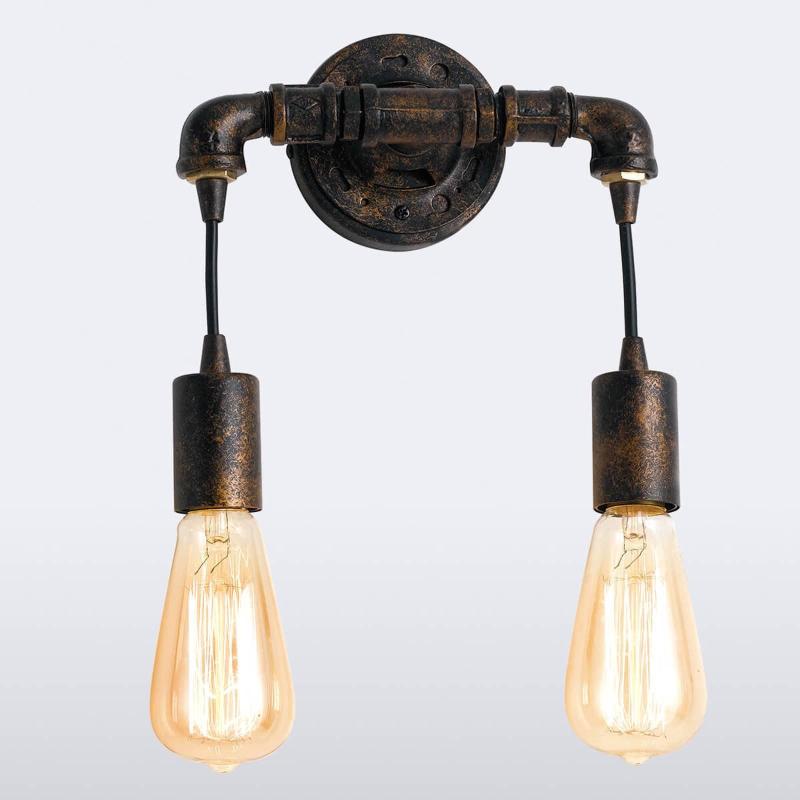 Vegglampe Amarcord, 2 lyskilder