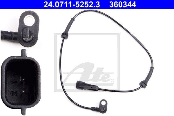 ABS-anturi ATE 24.0711-5252.3