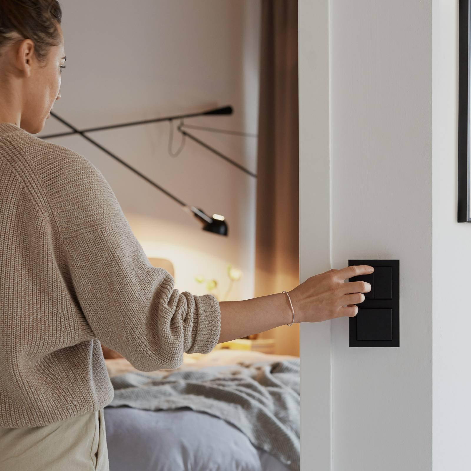 Senic Smart Switch for Philips Hue, 1er, antrasitt