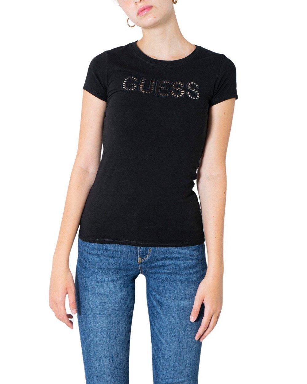 Guess Women's T-Shirt Various Colours 304916 - black XS