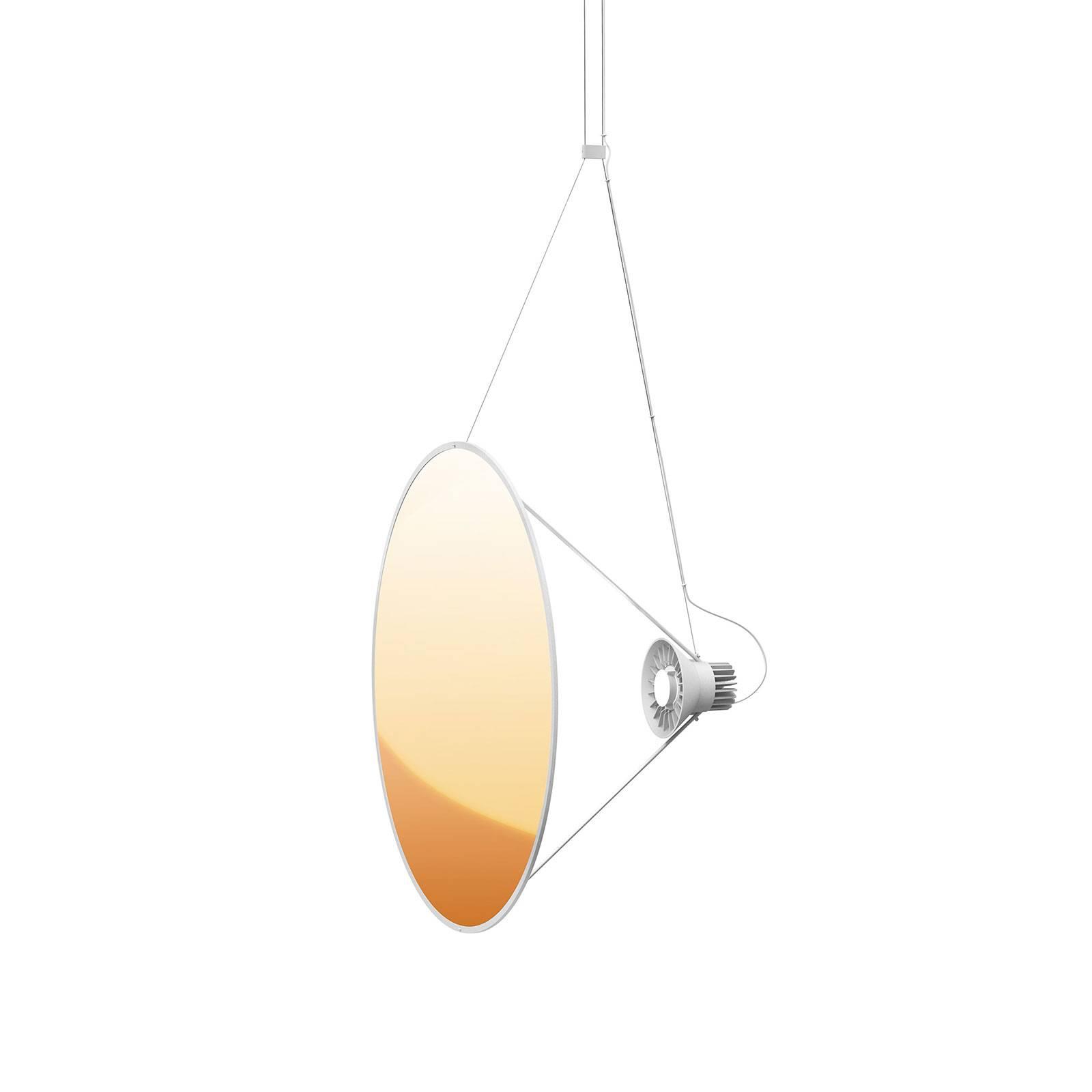 Luceplan Amisol -LED-riippuvalaisin Ø 75 cm kulta