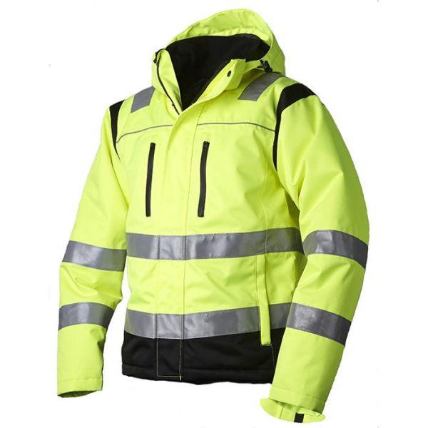 Vidar Workwear V40091503 Vinterjacka gul/svart XS