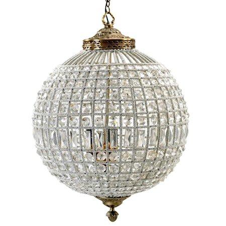 Crystal lamp taklampe - Large