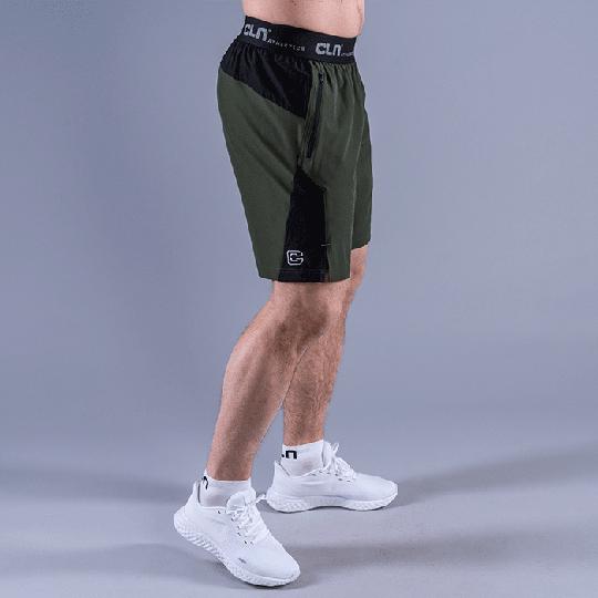 CLN Injection Shorts, Dark Green
