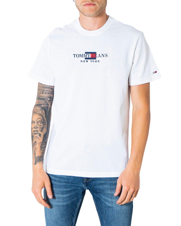 Tommy Hilfiger Jeans Men's T-Shirt Various Colours 305372 - white XS